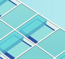 Minimalist Facade - S04 Sticker