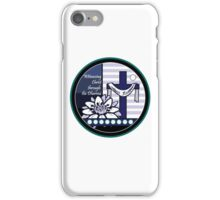 Witnessing Christ through the Dharma iPhone Case/Skin