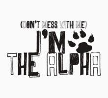 I Am The Alpha One Piece - Long Sleeve