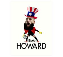Tim Howard USMNT Art Print