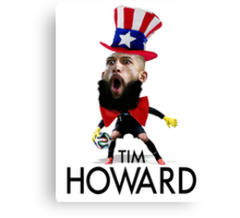 Tim Howard USMNT Canvas Print