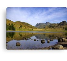 Peaceful Waters - Blea Tarn Canvas Print