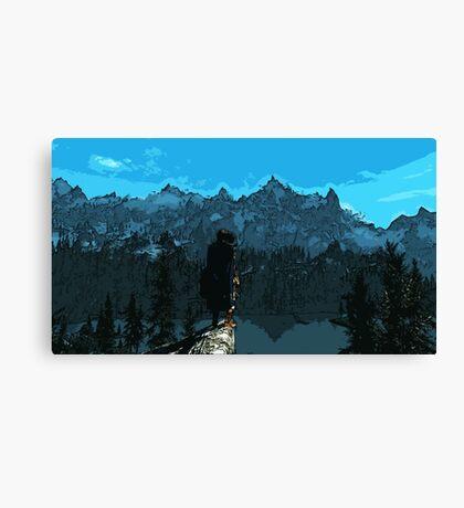 Beauty of Skyrim Canvas Print