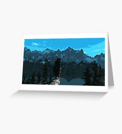 Beauty of Skyrim Greeting Card