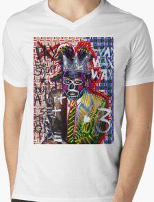 Jean Michel Mens V-Neck T-Shirt