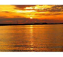 Sunset at Roanoke Photographic Print