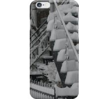 Montreal Snow Winter Scene iPhone Case/Skin