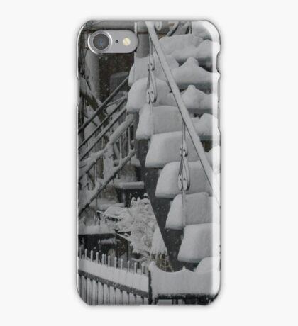 Montreal Snow Winter Scene iPhone Case/Skin
