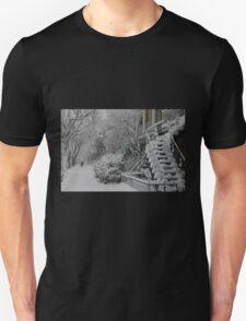 Montreal Snow Winter Scene T-Shirt