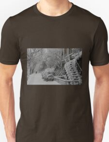 Montreal Snow Winter Scene T-Shirt