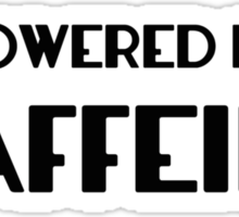 Powered By Caffeine Sticker