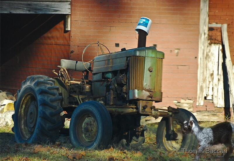 Tractor Broke Down : Quot broken down tractor posters by tj baccari photography