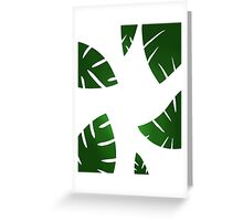 simplistic leaf design Greeting Card