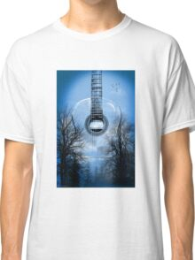 guitar nature  Classic T-Shirt