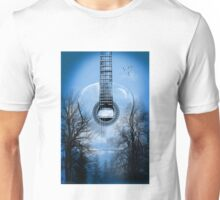 guitar nature  Unisex T-Shirt
