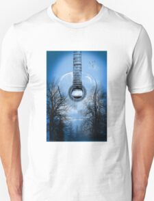 guitar nature  T-Shirt