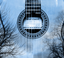 guitar nature  Sticker