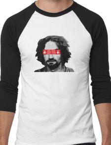 Charles Manson - Helter Skelter Men's Baseball ¾ T-Shirt