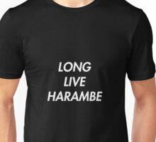 Long Live Harambe Unisex T-Shirt