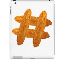 Hash(brown)tag iPad Case/Skin