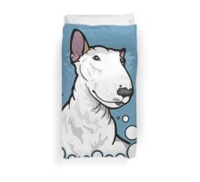 Lola Ginger Ear Bull Terrier  Duvet Cover