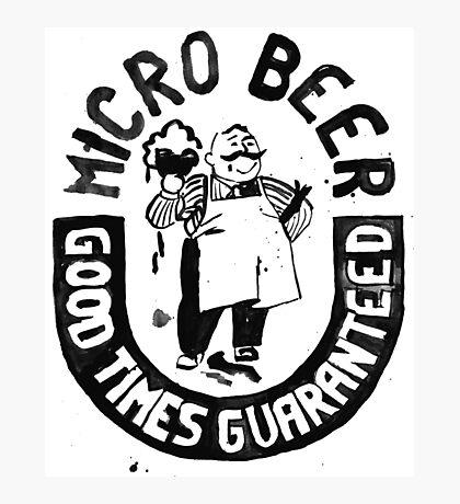 #BeerWatercolorStyle Photographic Print
