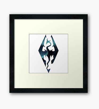 Skyrim - Elder Scrolls Aesthetic Framed Print
