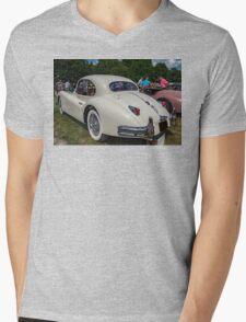 Cat Coupe Mens V-Neck T-Shirt