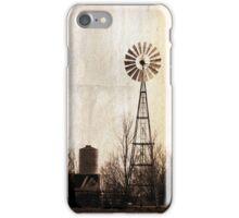 Vintage Windmill iPhone Case/Skin
