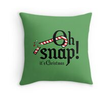 Oh Snap! It's Christmas Throw Pillow