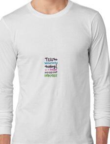 voodoo doll lyric art Long Sleeve T-Shirt