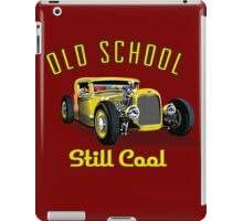OLD School still Cool iPad Case/Skin