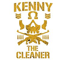 Kenny The Cleaner Photographic Print