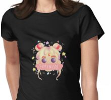 Sailor Moon-Feminism Womens Fitted T-Shirt