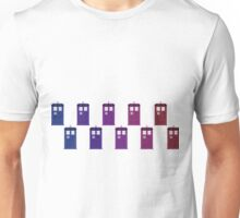 TARDIS Colour Flow Unisex T-Shirt