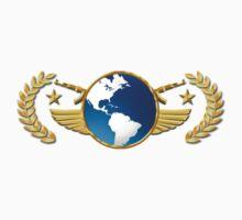 Global Elite CSGO Rank Emblem Kids Tee