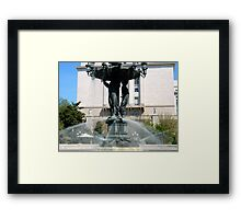 Bartholdi Fountain - Washington D C Framed Print