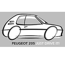 Peugeot 205  Photographic Print