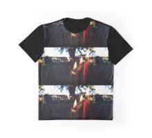 Three Bright Flames Graphic T-Shirt