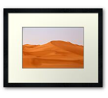 Illizi Dunes Framed Print