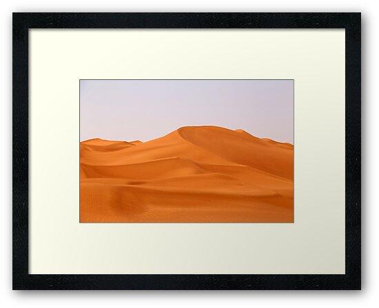 Illizi Dunes by Omar Dakhane