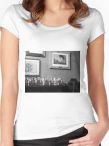 Ketchup Bottles Women's Fitted Scoop T-Shirt