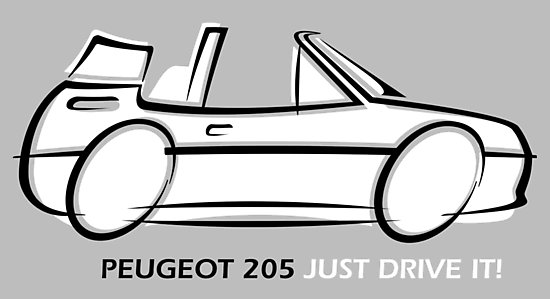 Peugeot 205 cabriolet by car2oonz