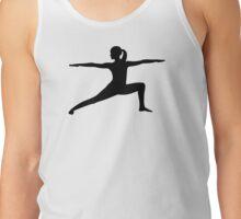 Yoga woman Tank Top