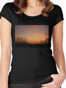Cosmic Dance - The final act Women's Fitted Scoop T-Shirt