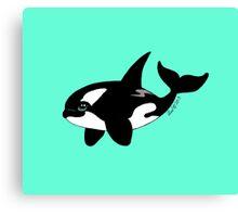 Little Fat Orca Canvas Print