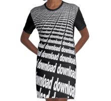 DOWNLOAD Graphic T-Shirt Dress