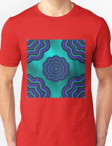 Aqua Glass Moony Mums Unisex T-Shirt