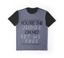 The Judge Lyrics  Graphic T-Shirt