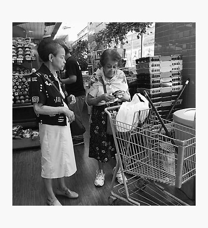 Shopping Companion Photographic Print
